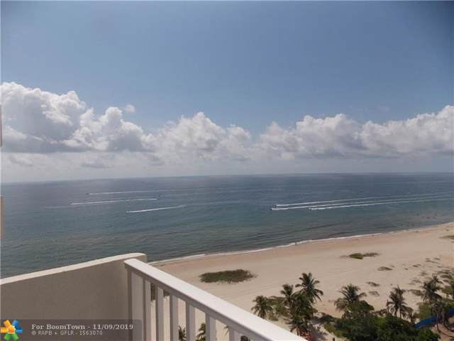 750 N Ocean Blvd #1604, Pompano Beach, FL 33062 (MLS #F10202971) :: The Paiz Group