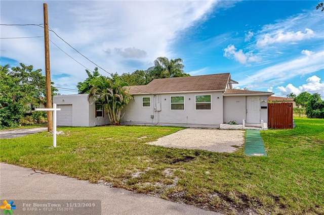1021 S 29th Avenue, Hollywood, FL 33020 (MLS #F10203194) :: RICK BANNON, P.A. with RE/MAX CONSULTANTS REALTY I