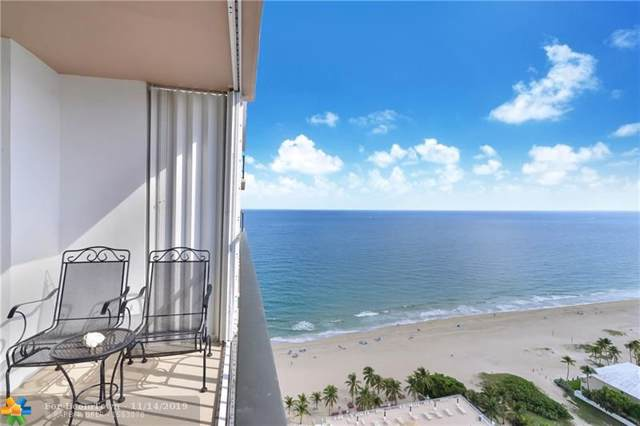 101 Briny Ave #2804, Pompano Beach, FL 33062 (MLS #F10203272) :: Green Realty Properties