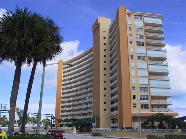 328 N Ocean Blvd #1403, Pompano Beach, FL 33062 (MLS #F10203397) :: The O'Flaherty Team