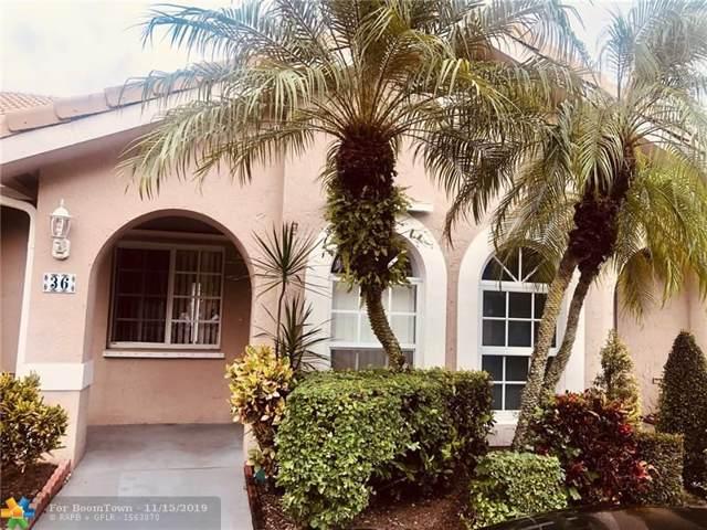 3175 Holiday Springs Blvd #36, Margate, FL 33063 (MLS #F10203445) :: Berkshire Hathaway HomeServices EWM Realty