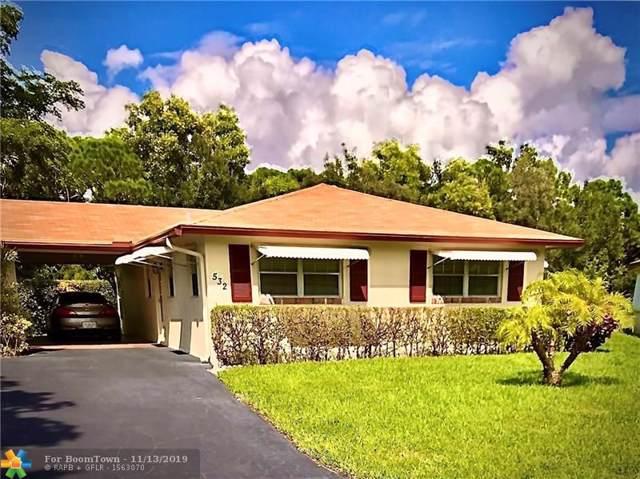 532 Sandpiper Cir #532, Delray Beach, FL 33445 (MLS #F10203529) :: Best Florida Houses of RE/MAX