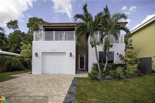1221 NE 11th Ave, Fort Lauderdale, FL 33304 (MLS #F10203711) :: The O'Flaherty Team