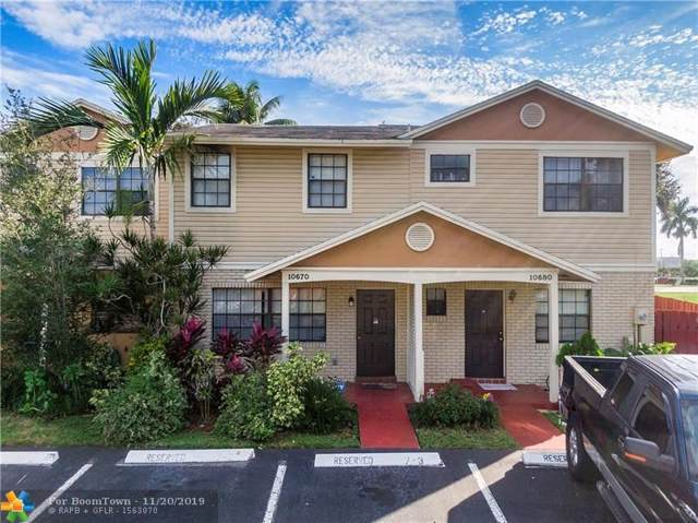 10670 NW 1st St #2, Pembroke Pines, FL 33324 (MLS #F10204145) :: RICK BANNON, P.A. with RE/MAX CONSULTANTS REALTY I