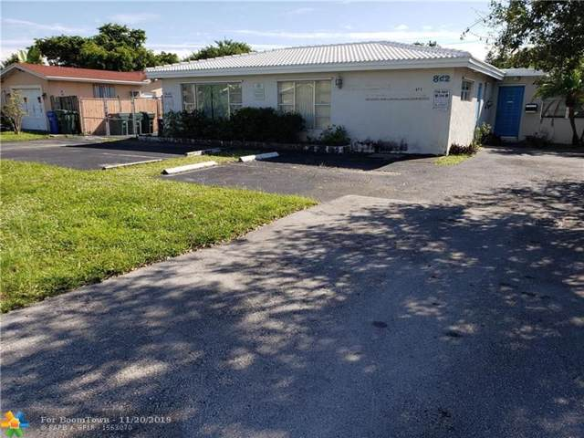 872 NW 35th St, Oakland Park, FL 33309 (MLS #F10204261) :: The Paiz Group