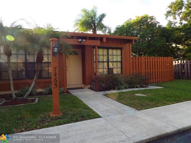 7465 NW 33rd St #7465, Lauderhill, FL 33319 (MLS #F10204323) :: The O'Flaherty Team