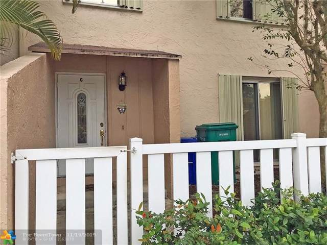 1633 NW 80th Ave G, Margate, FL 33063 (MLS #F10204324) :: The O'Flaherty Team