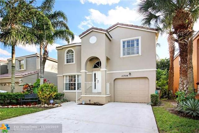 11754 NW 1st St, Coral Springs, FL 33071 (MLS #F10204515) :: Green Realty Properties