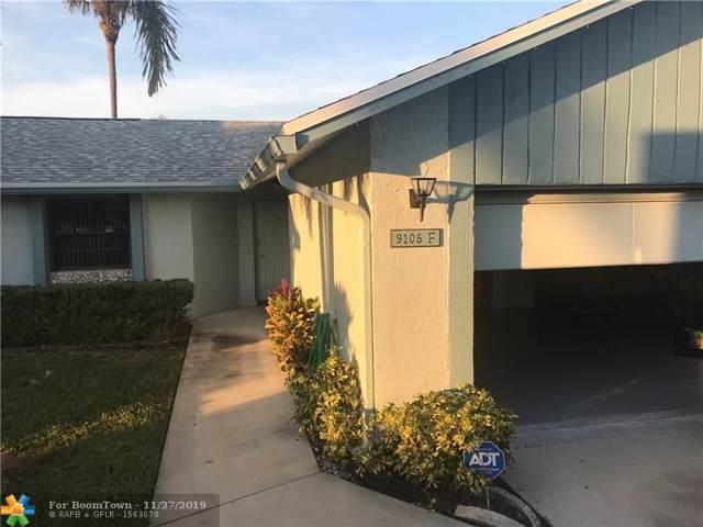 9105 SW 22nd St F, Boca Raton, FL 33428 (MLS #F10205379) :: Berkshire Hathaway HomeServices EWM Realty