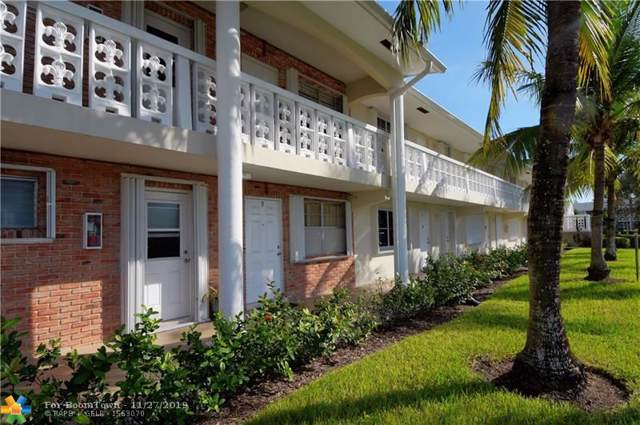 801 Pine Dr #5, Pompano Beach, FL 33060 (MLS #F10205397) :: Patty Accorto Team