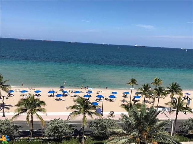 505 N Fort Lauderdale Beach Blvd #807, Fort Lauderdale, FL 33304 (MLS #F10205545) :: The Howland Group