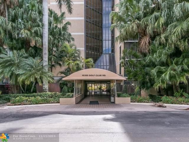 16300 Golf Club Rd #409, Weston, FL 33326 (MLS #F10205713) :: United Realty Group