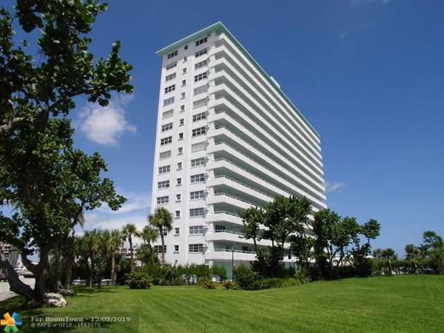 4050 N Ocean Dr #1601, Lauderdale By The Sea, FL 33308 (MLS #F10205794) :: The Howland Group