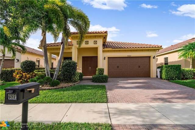 7531 NW 112TH TER, Parkland, FL 33076 (MLS #F10205932) :: Castelli Real Estate Services