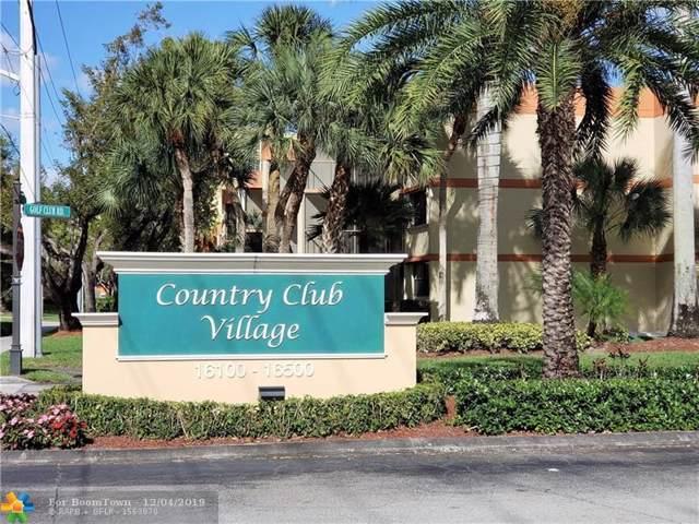 16251 Golf Club Rd #104, Weston, FL 33326 (MLS #F10206032) :: Patty Accorto Team