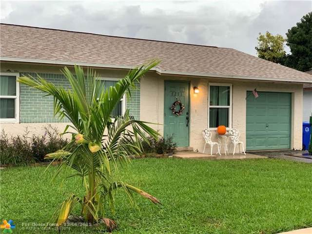 8231 SW 6th St, North Lauderdale, FL 33068 (MLS #F10206395) :: RICK BANNON, P.A. with RE/MAX CONSULTANTS REALTY I