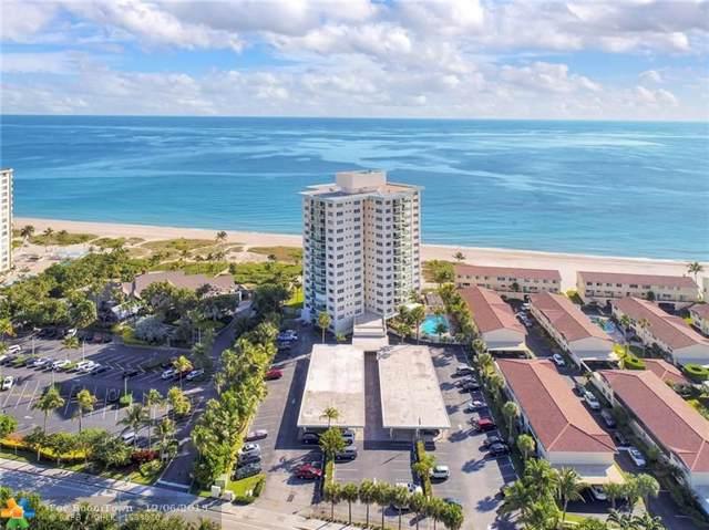 6000 N Ocean Blvd 2B, Lauderdale By The Sea, FL 33308 (MLS #F10206407) :: Castelli Real Estate Services