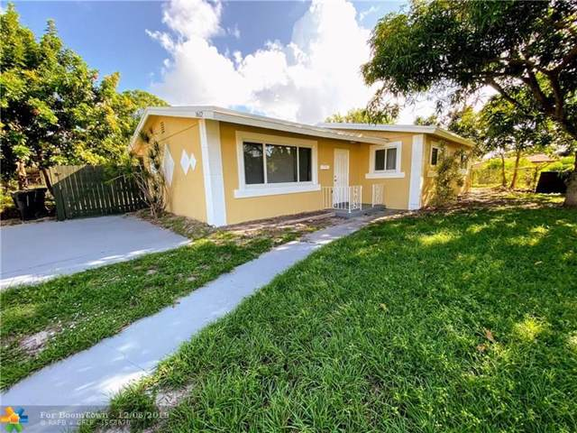 1612 NW 11th Ave, Fort Lauderdale, FL 33311 (MLS #F10206517) :: The Howland Group
