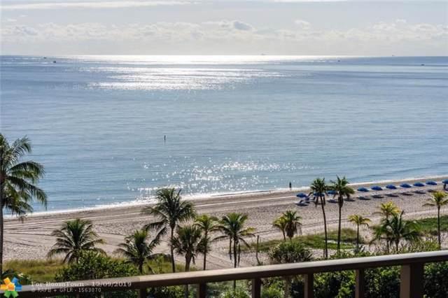 4900 N Ocean Blvd #1009, Lauderdale By The Sea, FL 33308 (MLS #F10206701) :: RE/MAX