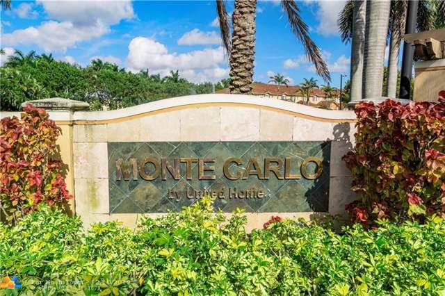 5540 Monte Carlo Ln #5540, Margate, FL 33068 (MLS #F10206738) :: Berkshire Hathaway HomeServices EWM Realty