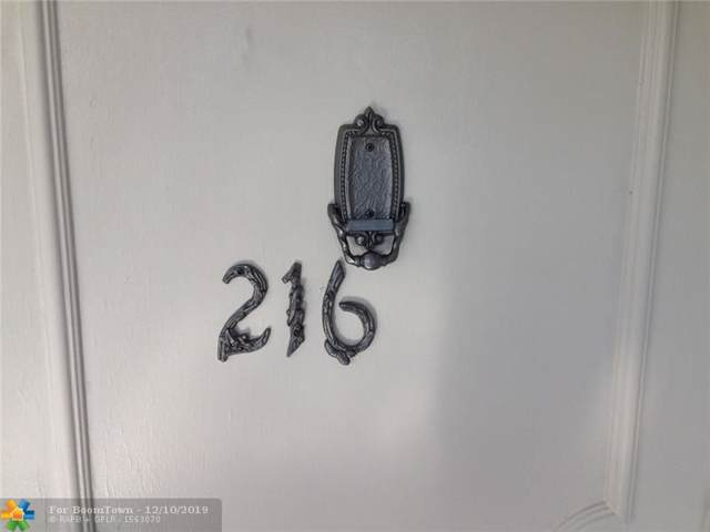1711 NW 46th Ave #216, Lauderhill, FL 33313 (MLS #F10206915) :: The O'Flaherty Team