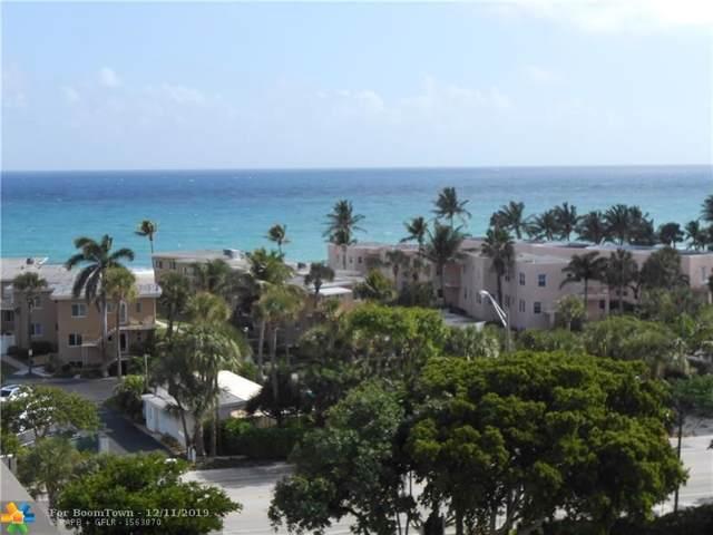 1401 S Ocean Blvd #706, Pompano Beach, FL 33062 (MLS #F10207026) :: RE/MAX