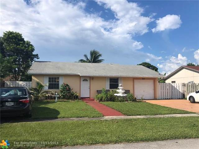 8161 SW 7 Ct, North Lauderdale, FL 33068 (MLS #F10207121) :: RICK BANNON, P.A. with RE/MAX CONSULTANTS REALTY I
