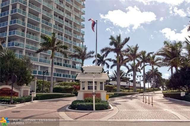 2100 S Ocean Ln #1006, Fort Lauderdale, FL 33316 (MLS #F10207140) :: RE/MAX