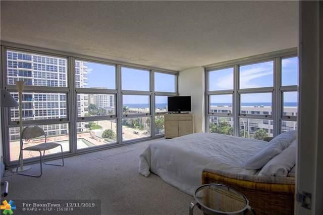 525 N Ocean Blvd #824, Pompano Beach, FL 33062 (MLS #F10207217) :: RE/MAX