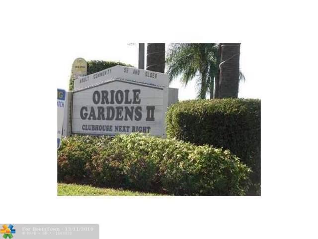 601 NW 80th Ave #103, Margate, FL 33063 (MLS #F10207230) :: Berkshire Hathaway HomeServices EWM Realty