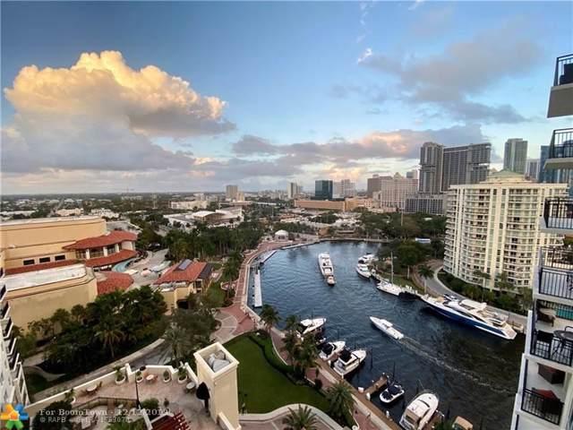 600 W Las Olas Bl 1606S, Fort Lauderdale, FL 33312 (MLS #F10207328) :: The O'Flaherty Team
