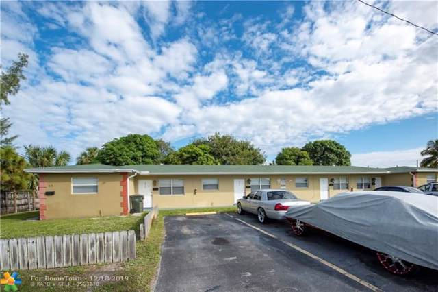 4008 NW 5th Ave, Oakland Park, FL 33309 (MLS #F10207965) :: Berkshire Hathaway HomeServices EWM Realty