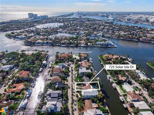 725 Solar Isle Dr, Fort Lauderdale, FL 33301 (MLS #F10208015) :: RICK BANNON, P.A. with RE/MAX CONSULTANTS REALTY I