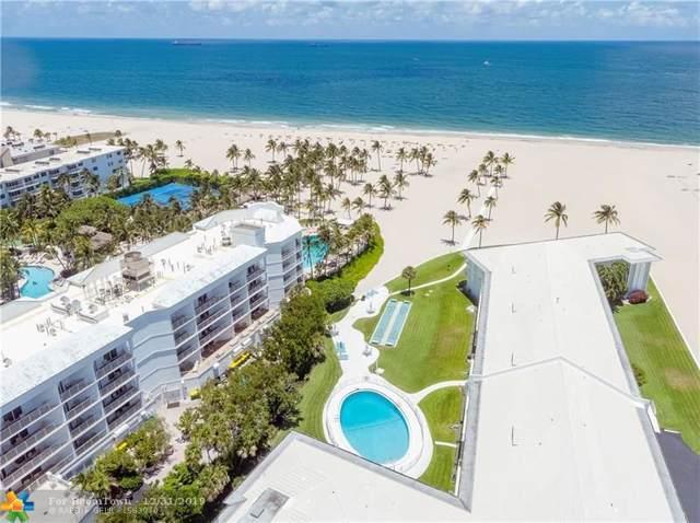 1750 S Ocean Ln #111, Fort Lauderdale, FL 33316 (#F10208058) :: Ryan Jennings Group