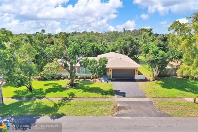 5580 SW 8th St, Plantation, FL 33317 (MLS #F10208100) :: Green Realty Properties