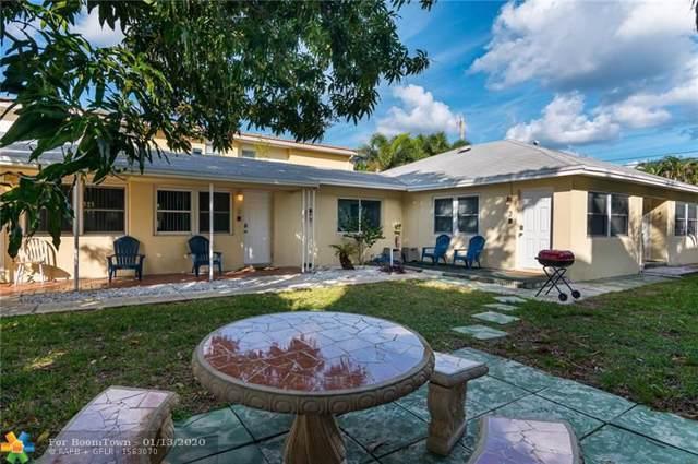 1108-1110 NE 16 Terrace, Fort Lauderdale, FL 33304 (#F10208977) :: The Rizzuto Woodman Team