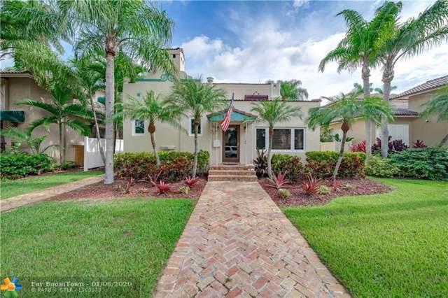 1045 Harrison St., Hollywood, FL 33019 (MLS #F10210131) :: Green Realty Properties