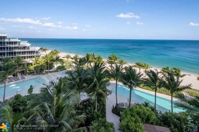 2200 N Ocean Blvd S601, Fort Lauderdale, FL 33304 (#F10210157) :: Posh Properties