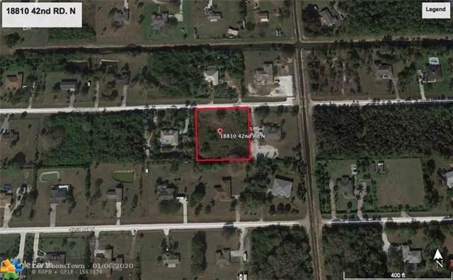 18810 42nd Rd, Loxahatchee, FL 33470 (MLS #F10210446) :: Green Realty Properties