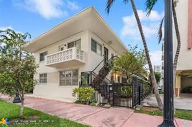 410 Euclid #6, Miami Beach, FL 33139 (MLS #F10210567) :: Green Realty Properties