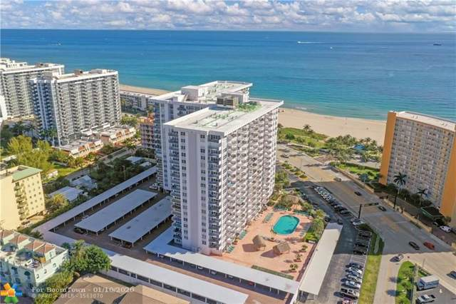 405 N Ocean Blvd #1105, Pompano Beach, FL 33062 (MLS #F10210988) :: The O'Flaherty Team