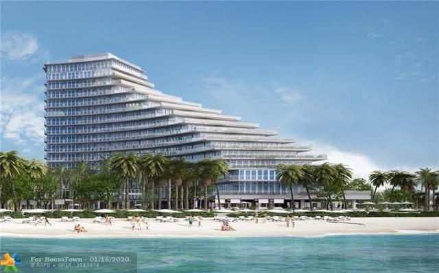 2200 N Ocean Blvd N902, Fort Lauderdale, FL 33305 (MLS #F10211052) :: Berkshire Hathaway HomeServices EWM Realty