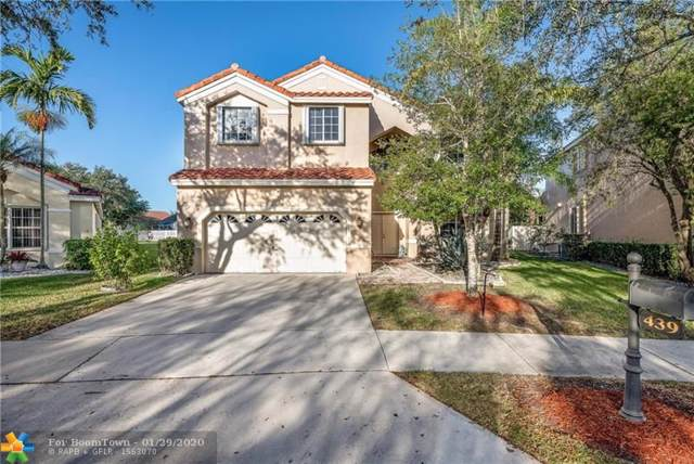 439 Cambridge Lane, Weston, FL 33326 (MLS #F10211053) :: GK Realty Group LLC