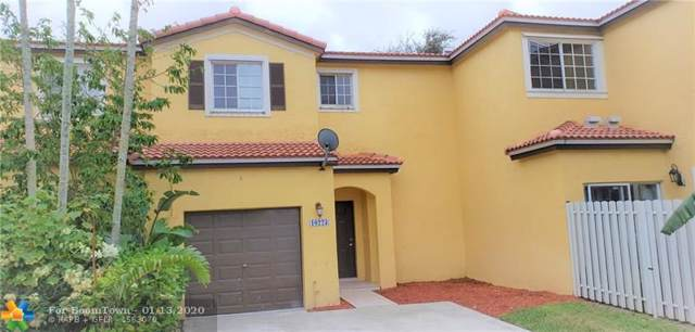 10223 SW 18th Ct, Miramar, FL 33025 (MLS #F10211318) :: THE BANNON GROUP at RE/MAX CONSULTANTS REALTY I