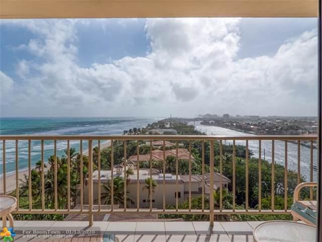 1021 Hillsboro Mile #903, Hillsboro Beach, FL 33062 (#F10211342) :: Posh Properties