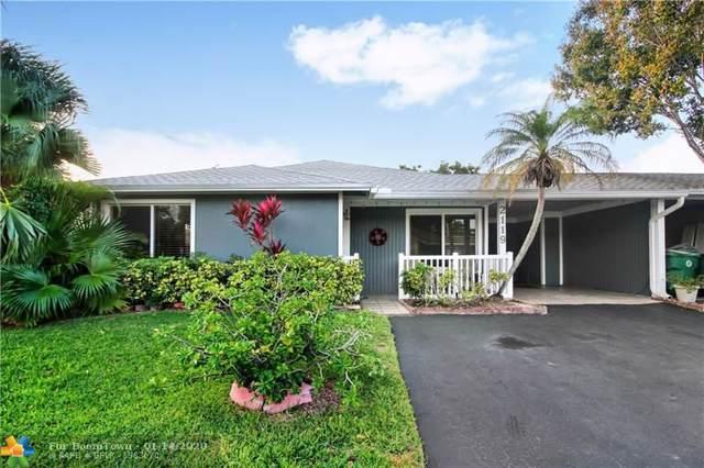 2119 SW 71st Way, Davie, FL 33317 (MLS #F10211626) :: Green Realty Properties