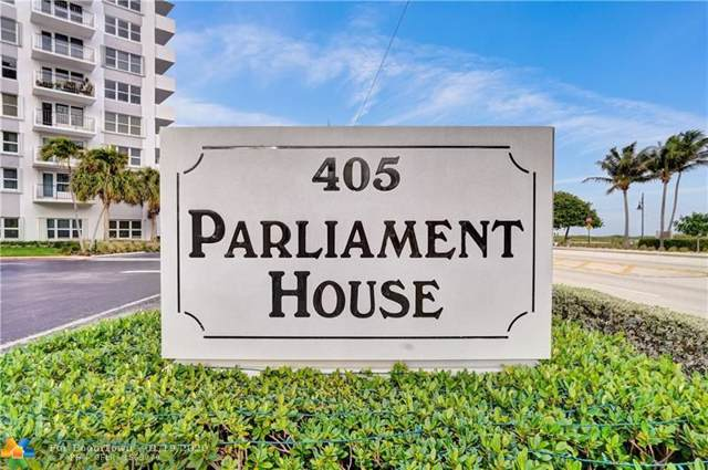 405 N Ocean Blvd #1411, Pompano Beach, FL 33062 (MLS #F10211653) :: Laurie Finkelstein Reader Team