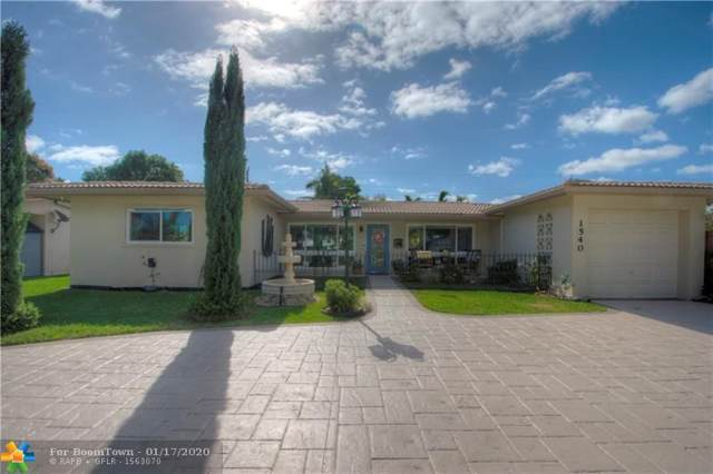 1540 NE 59th Pl, Fort Lauderdale, FL 33334 (MLS #F10211838) :: Berkshire Hathaway HomeServices EWM Realty