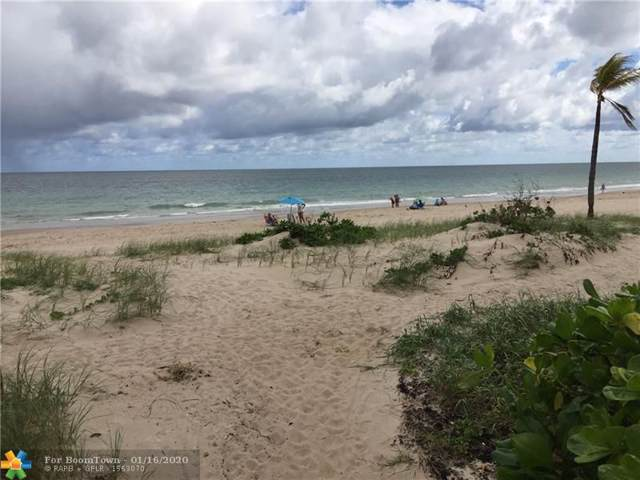 4228 N Ocean Dr #3, Lauderdale By The Sea, FL 33308 (MLS #F10212055) :: Castelli Real Estate Services