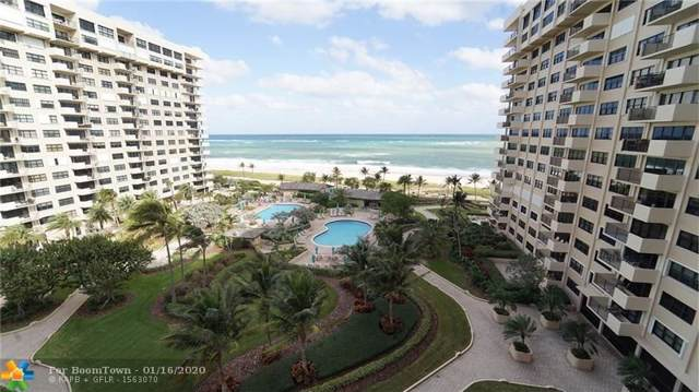 4900 N Ocean Blvd #912, Lauderdale By The Sea, FL 33308 (MLS #F10212061) :: Castelli Real Estate Services